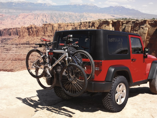 Lift Kits For Jeeps >> Jeep Parts: Bike Rack by Just Jeeps | Just Jeep Blog