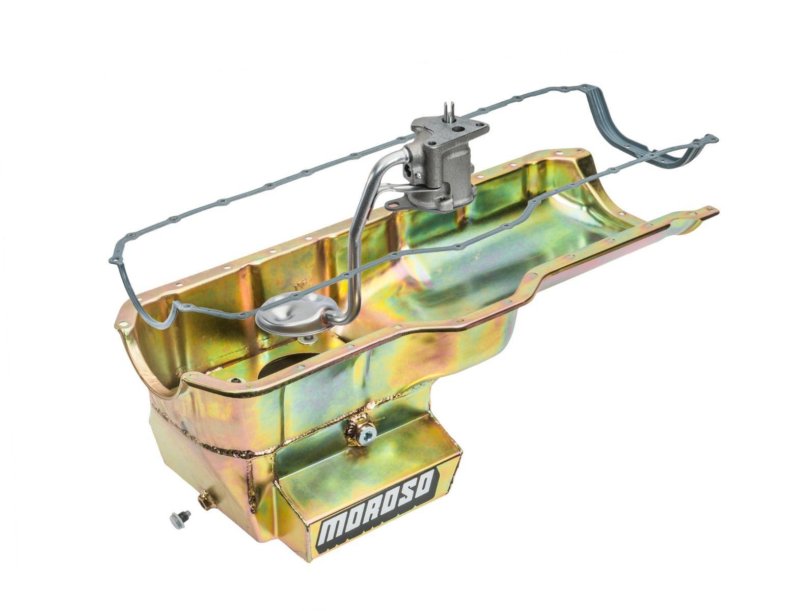 Engine - Oil Pans, Pumps & Gaskets