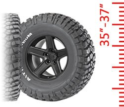 Tires - 35-37 Inch