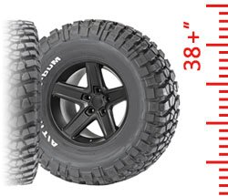 Tires - 38+ Inch