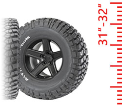Tires - 31-32 Inch