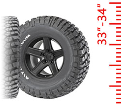 Tires - 33-34 Inch