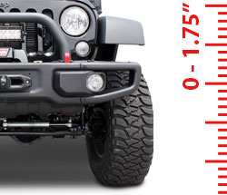 Lift Kits - Suspension 0-1.75 Inch