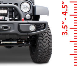 Lift Kits - Suspension 3.5-4.5 Inch