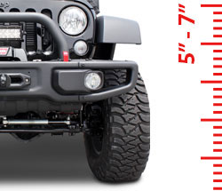 Lift Kits - Suspension 5-7 Inch