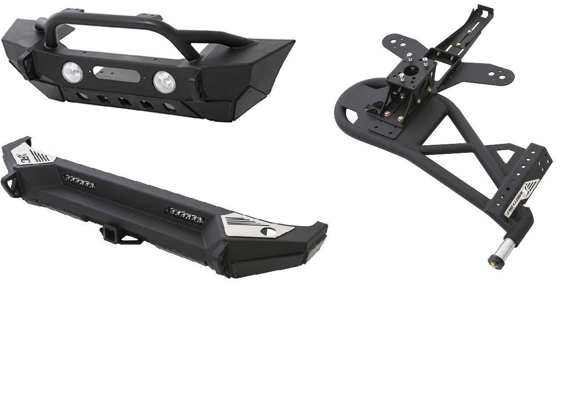 Bumpers - Kit (Front/Side/Rear)