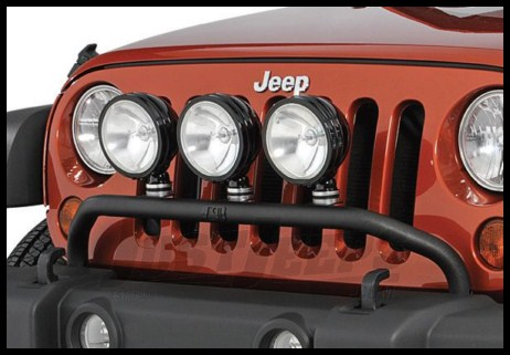 Jeep Parts Buy Rugged Ridge Light Bar In Textured Black 2007+ JK Wrangler,  Rubicon And Unlimited For CA$147.95 JustJeeps Store In Toronto, Canada.