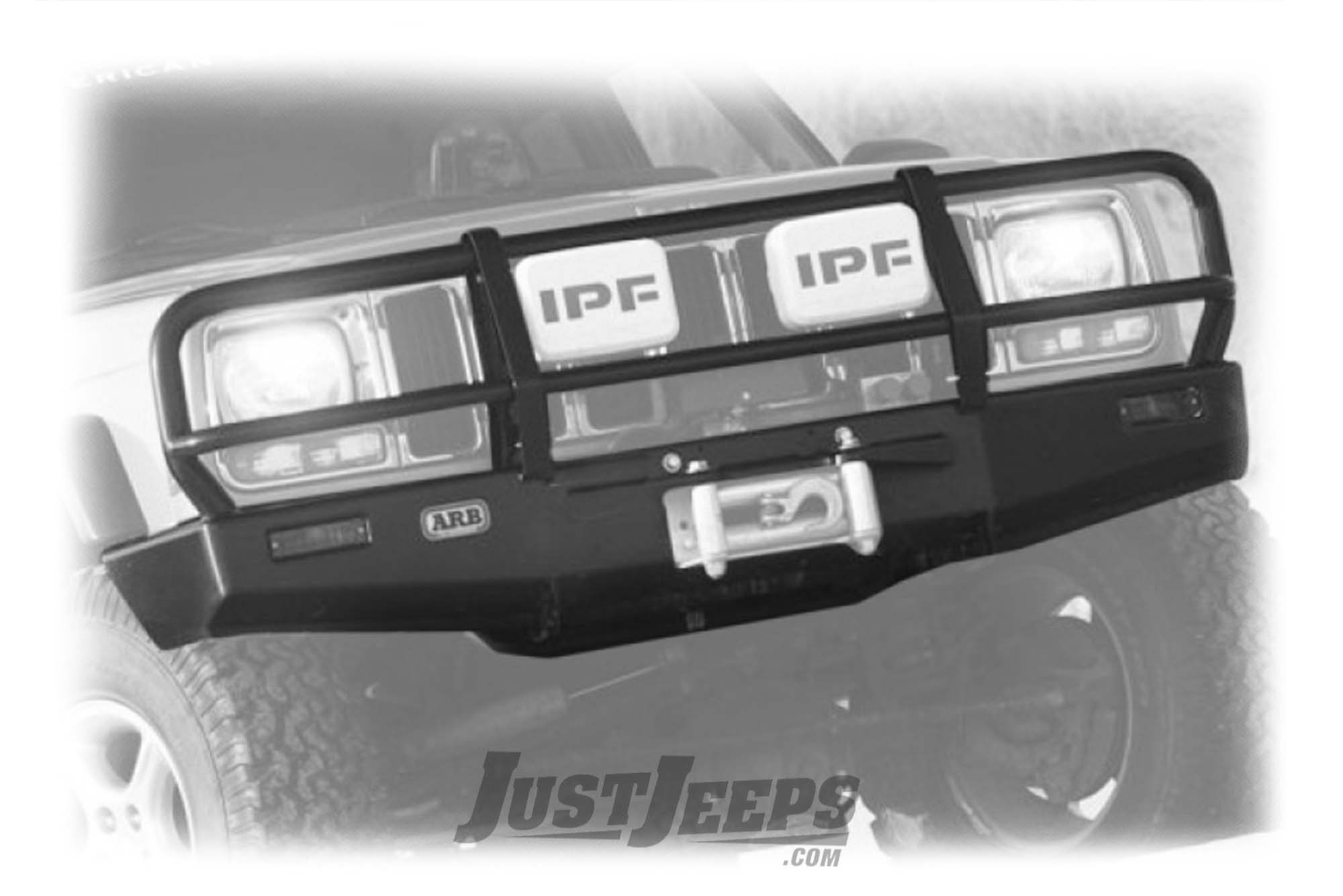 ARB Deluxe Bull Bar Front Bumper For 1984-96 Jeep Cherokee XJ & 1982-92  Comanche MJ Models