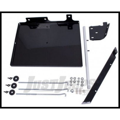 Just Jeeps Buy Rugged Ridge Dual Battery Tray 91 95