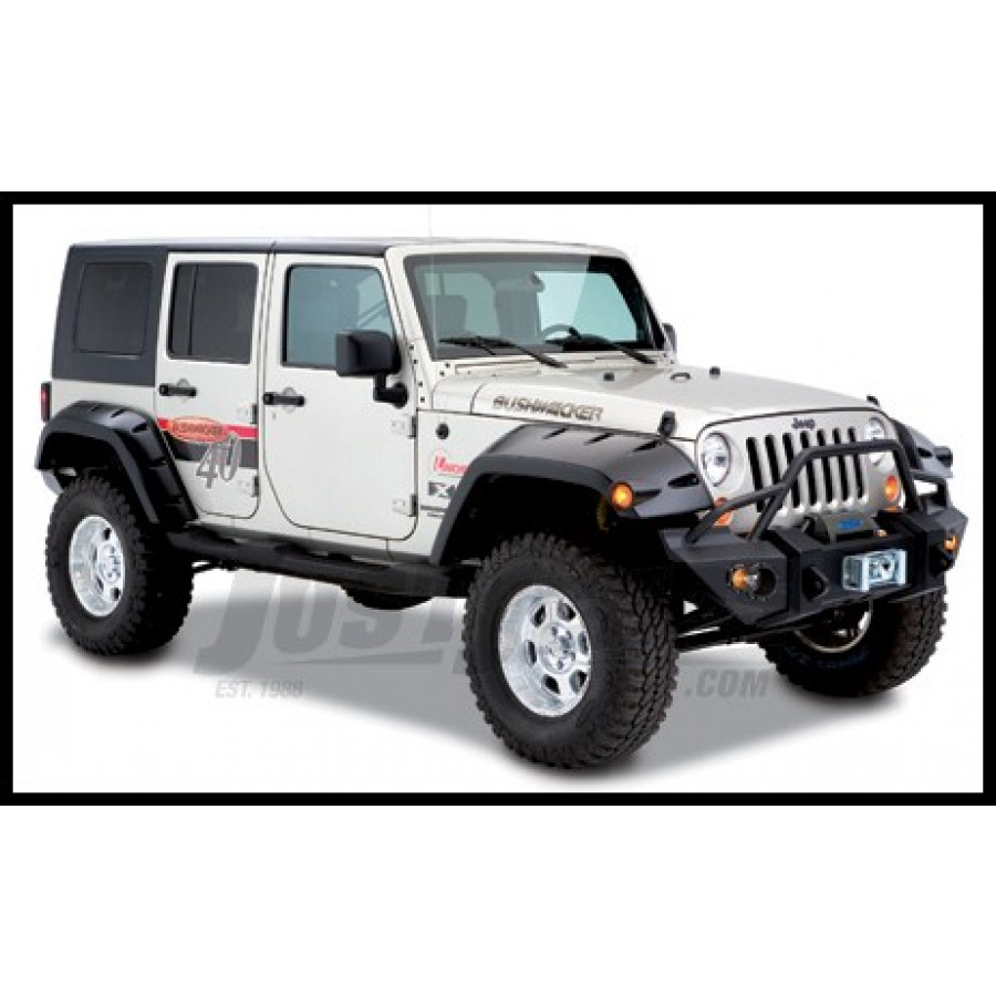 jeep parts buy bushwacker rear pocket style extended. Black Bedroom Furniture Sets. Home Design Ideas