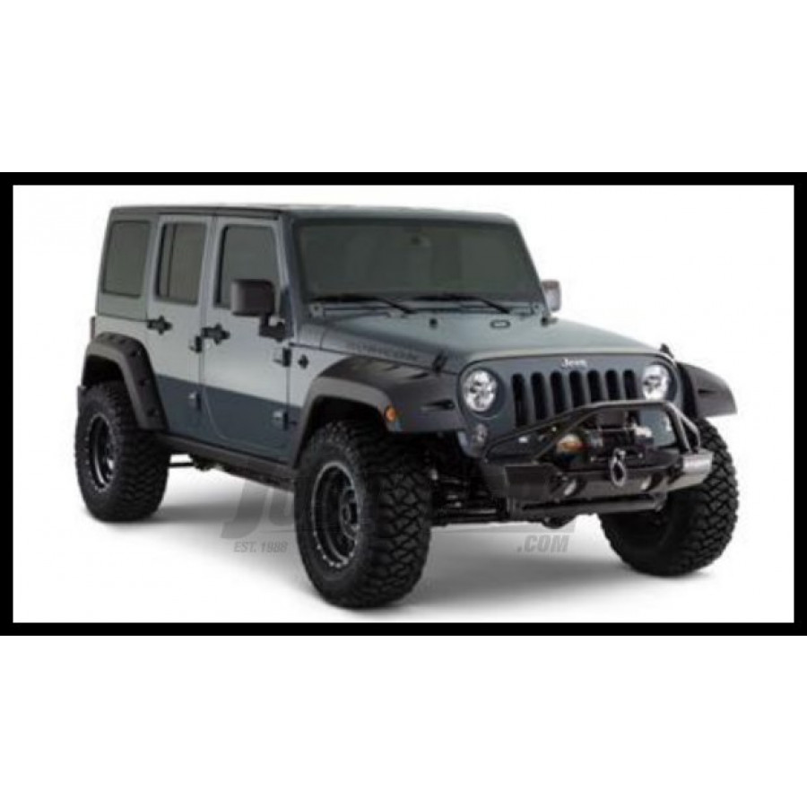 Just Jeeps Buy Bushwacker Front Pocket Style Fender Flares