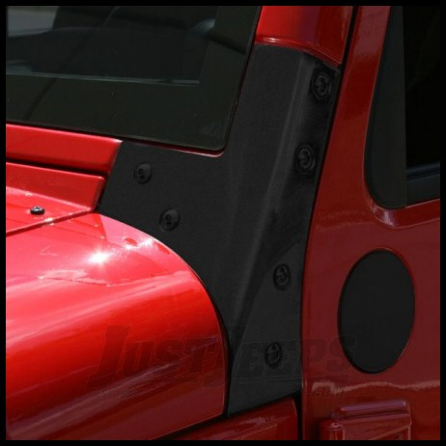Just Jeeps Buy Rugged Ridge Windshield Hinge Brackets In
