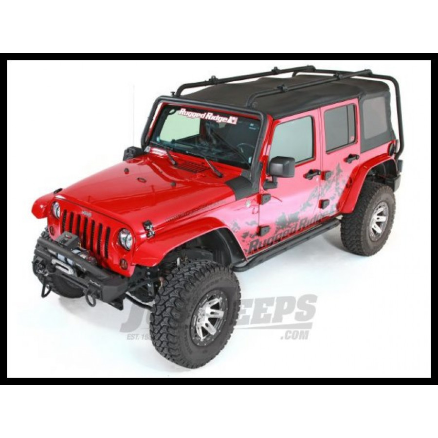 Jeep parts buy rugged ridge sherpa rack for 07 jeep for 07 4 door jeep wrangler