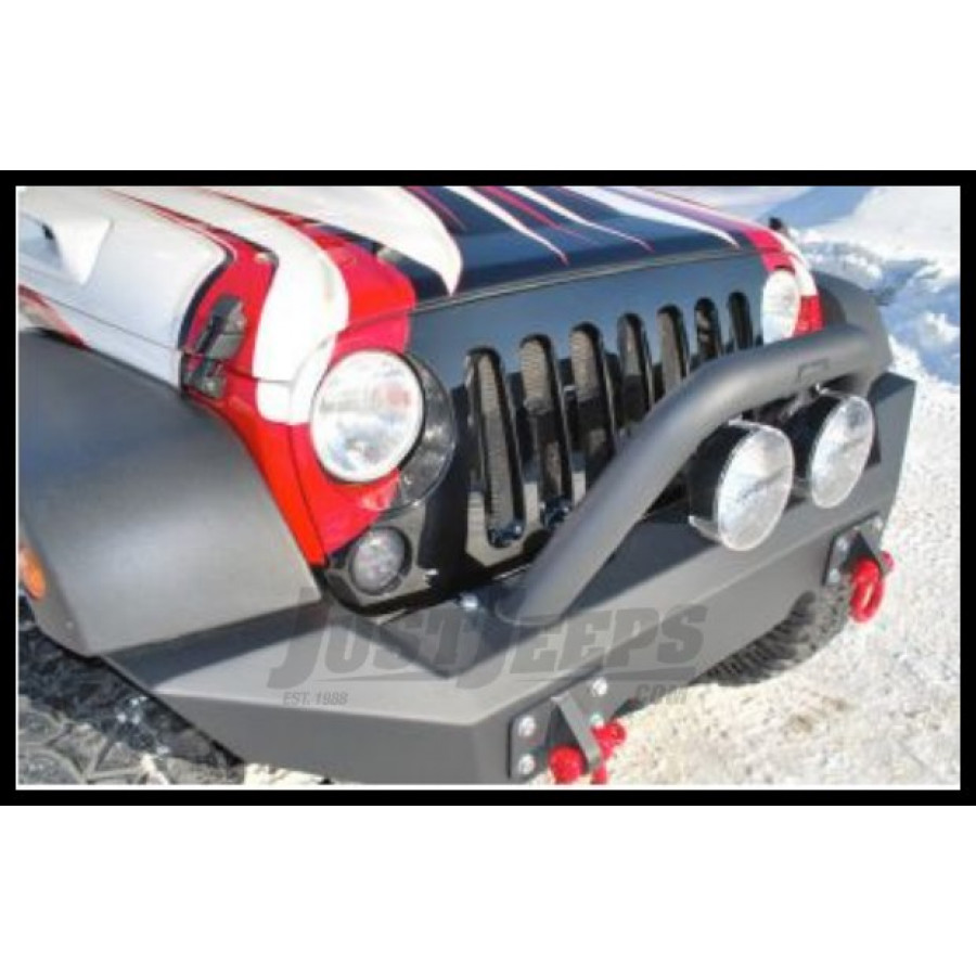 Just Jeeps Buy Off Camber Fabrications Front Full Width Bumper Jeep Wrangler Parts Assembly For 2007 Unlimited Jk