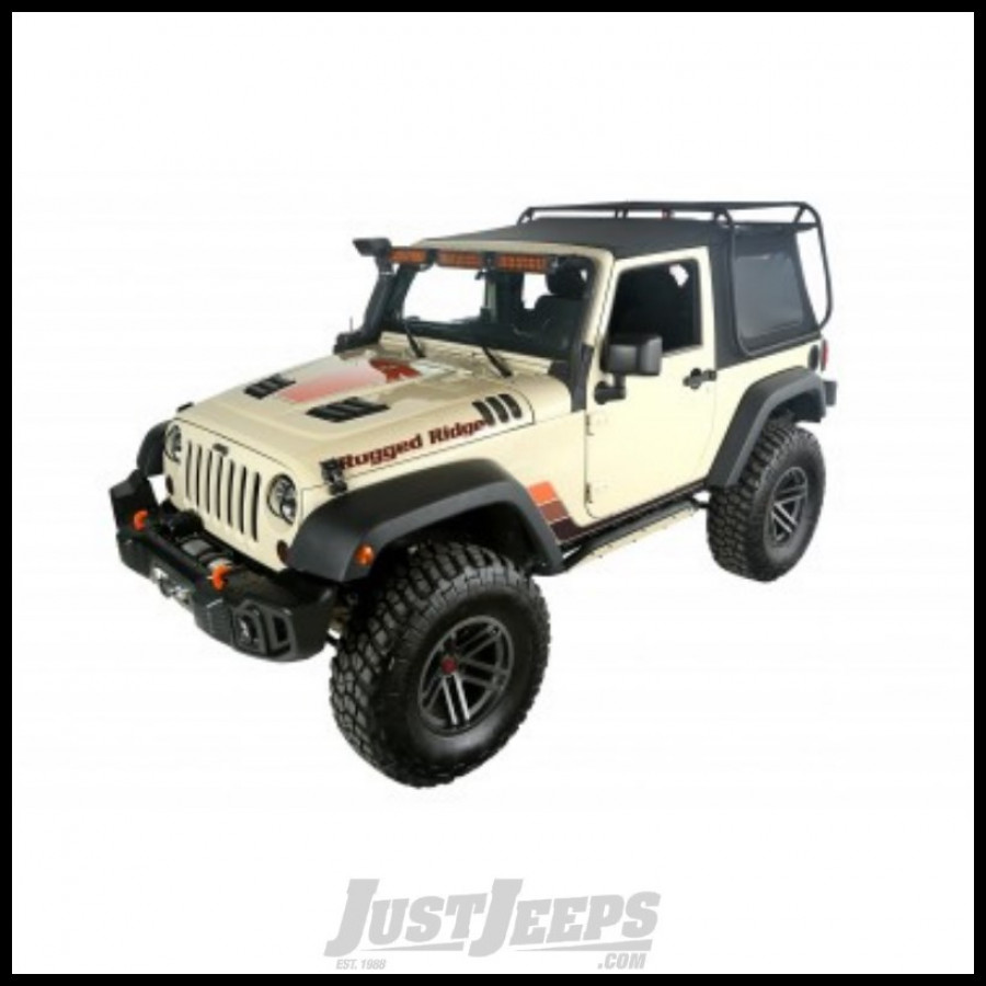 jeep parts buy rugged ridge exo top with tinted windows for 2007 jeep wrangler jk 2 door for ca. Black Bedroom Furniture Sets. Home Design Ideas