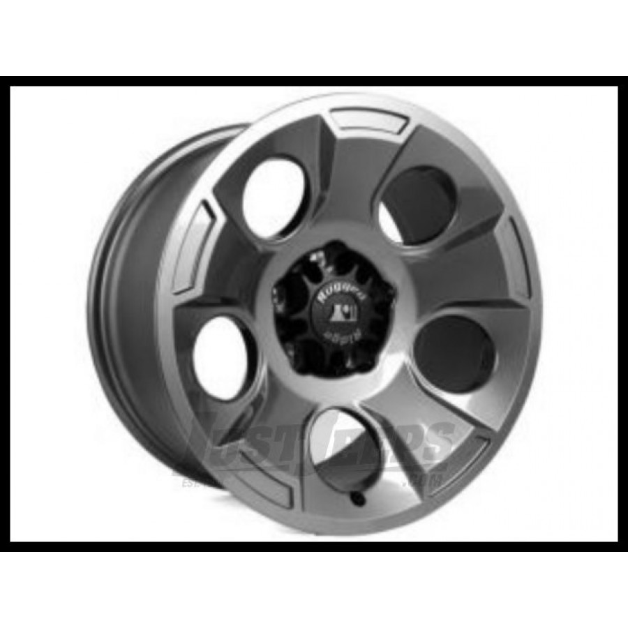 Just Jeeps Buy Rugged Ridge 17x9 Drakon Wheel In Gunmetal