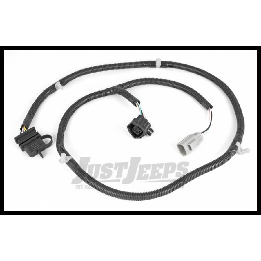 jeep door wiring harness just jeeps buy rugged ridge rear hitch trailer wiring ... 1995 jeep grand cherokee laredo door wiring harness #11