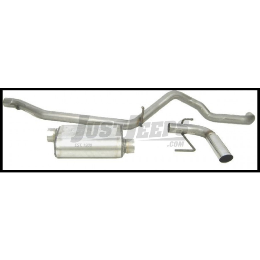 Just Jeeps Buy Dynomax Cat Back Exhaust Ultra Flo Welded
