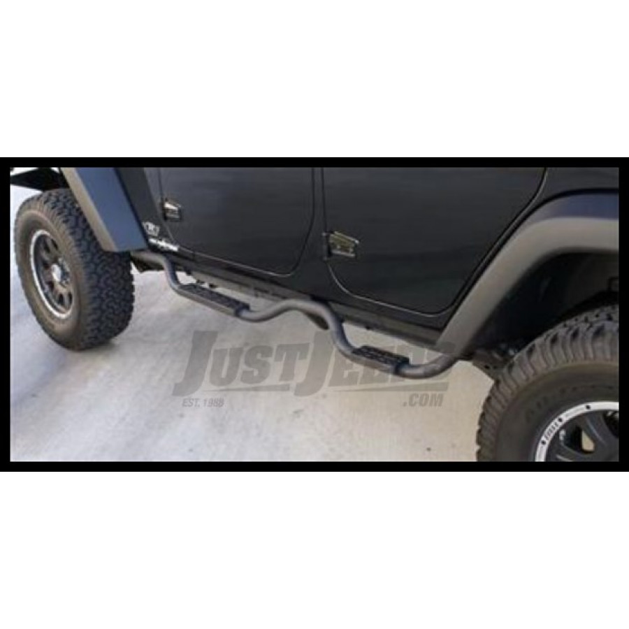 Just Jeeps Buy Rampage Side Nerf Bar Pair For Drop Step