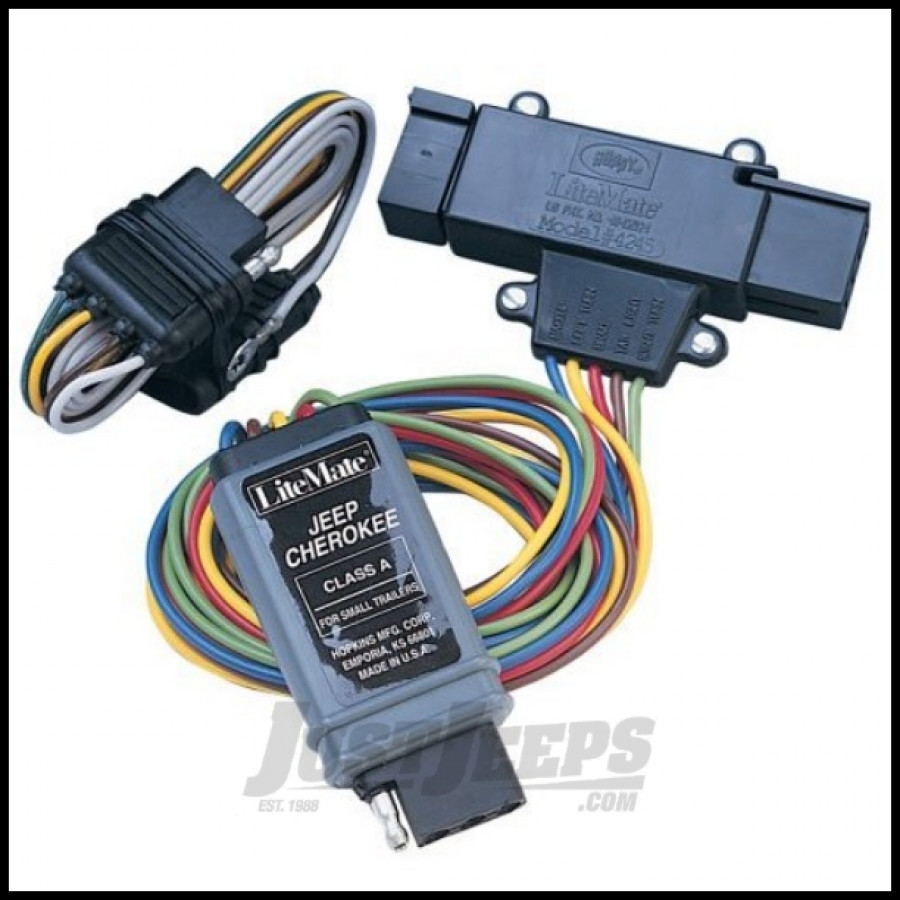 trailer wiring harness for 1998 jeep grand cherokee just jeeps buy hopkins simple plug-in trailer wiring ...