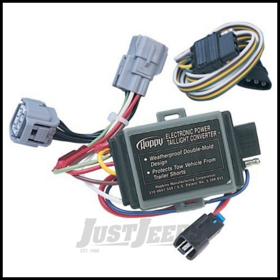 1995 jeep cherokee wiring harness just jeeps buy hopkins simple plug-in trailer wiring ...