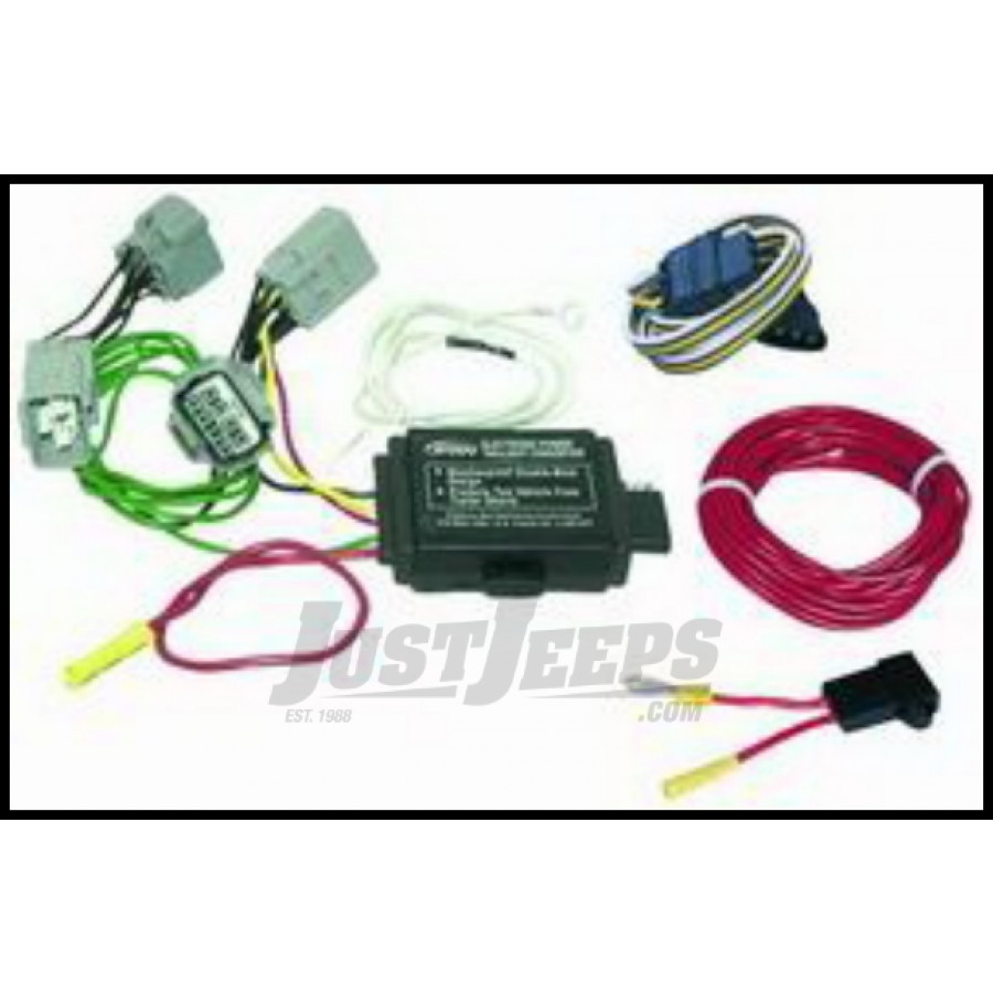 Trailer Wiring Harness For 2005 Jeep Grand Cherokee : Just jeeps buy hopkins simple plug in trailer wiring