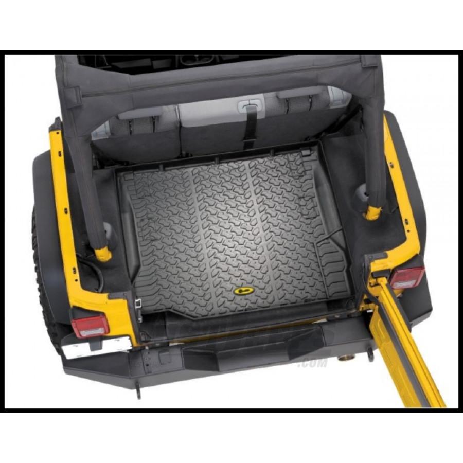 Just Jeeps Buy Bestop Floor Liners Rear Cargo Area For