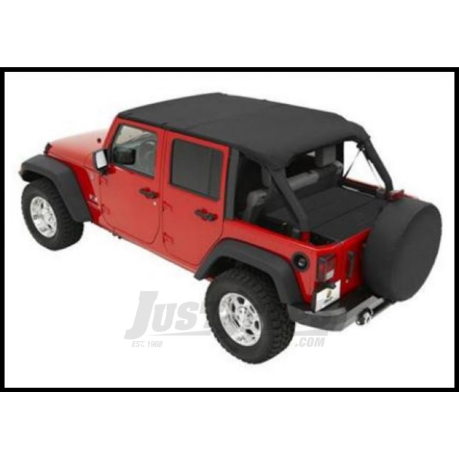 in bestop products wrangler jeep hardware black for soft bikini with tj halftop denim factory top