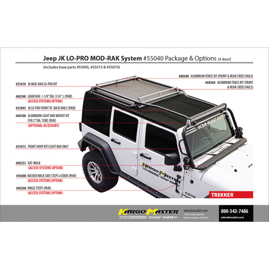 Jeep Parts Buy Kargo Master Kat Walk For 2007 Jeep
