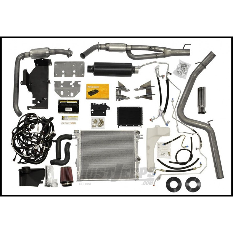 Just Jeeps Buy Aev 5 7l V8 Hemi Conversion Kit For 2007 10