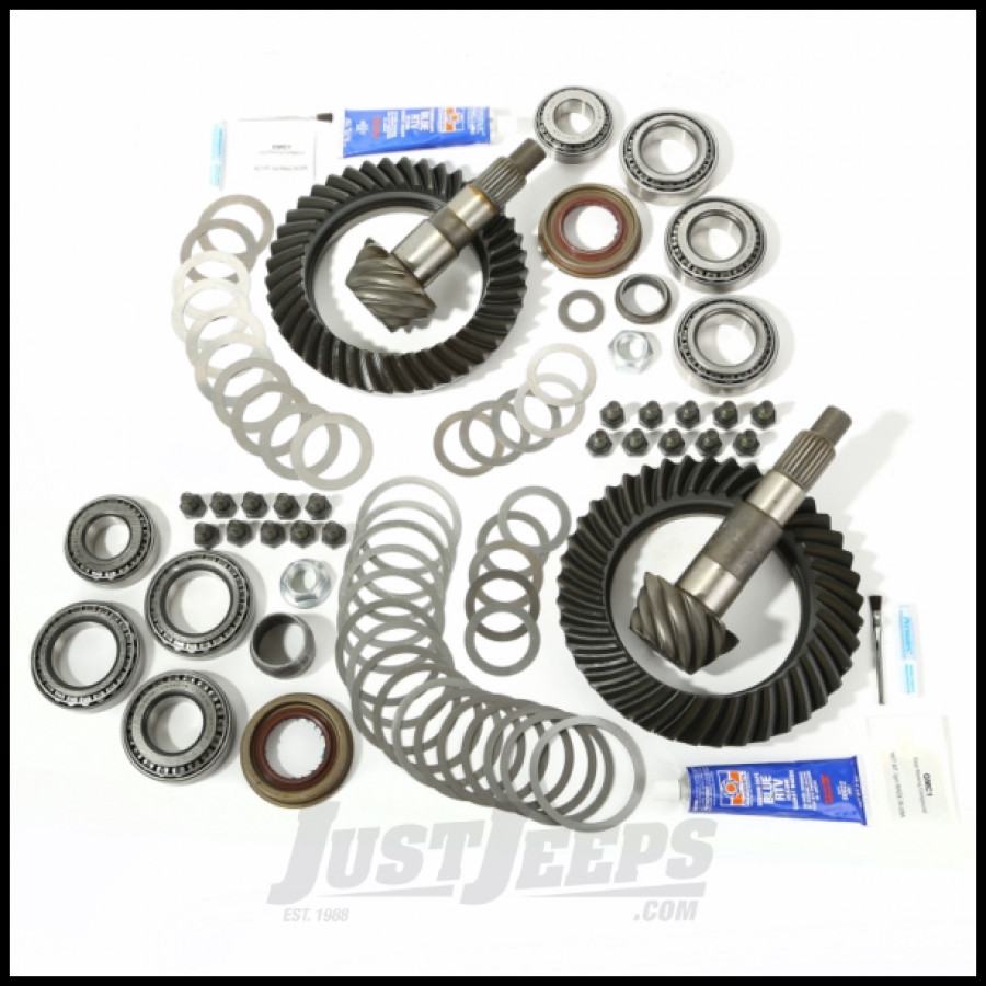 how to change ring and pinion gears jeep