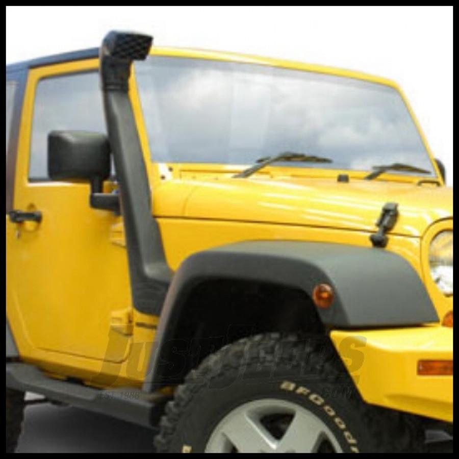 Arb safari snorkel kit fits 2012 16 3 6l jeep wrangler jk rubicon and unlimited