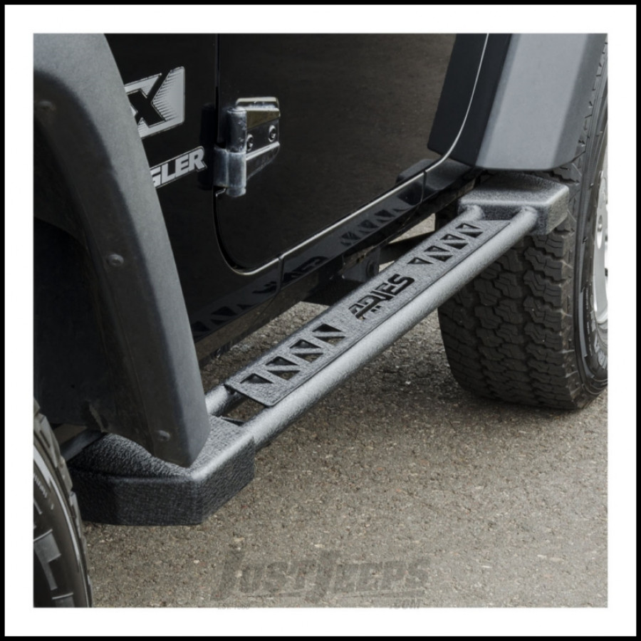 Just Jeeps Buy Aries Automotive Rocker Steps In Textured