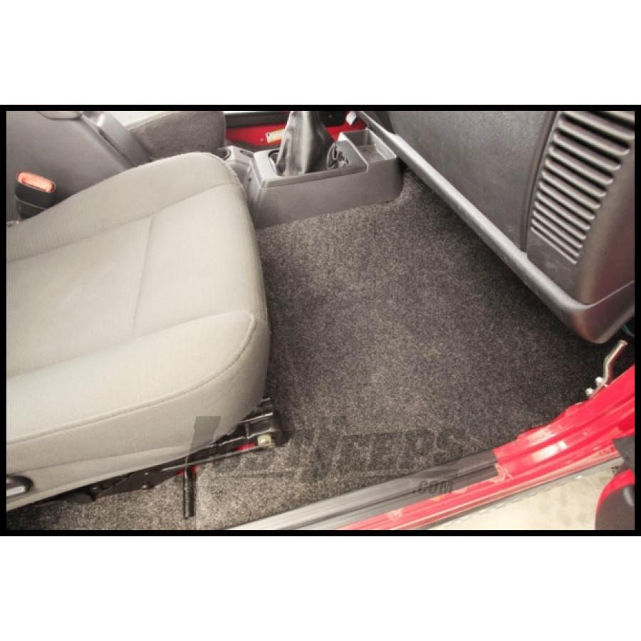 Just Jeeps Buy BedRug Floor Liner 3 Piece With Heat Shield
