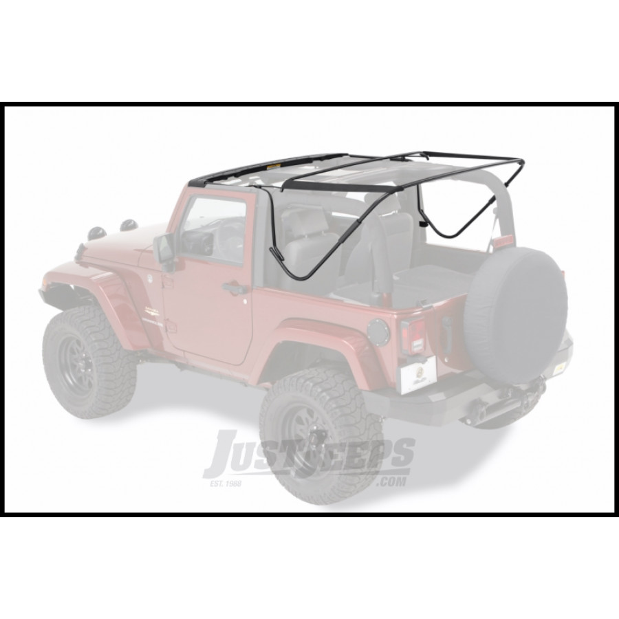 Jeep Yj Soft Top Replacement Bow Kit 88 95 Jeep Wrangler: Just Jeeps Buy Bestop Factory Style Hardware & Bow Kit For