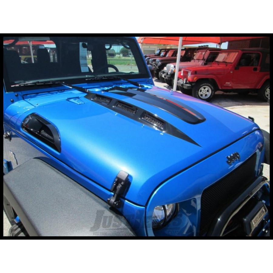 Black Mountain Jeep: Just Jeeps Buy Black Mountain Cowl Hood W/ Vents * Avenger