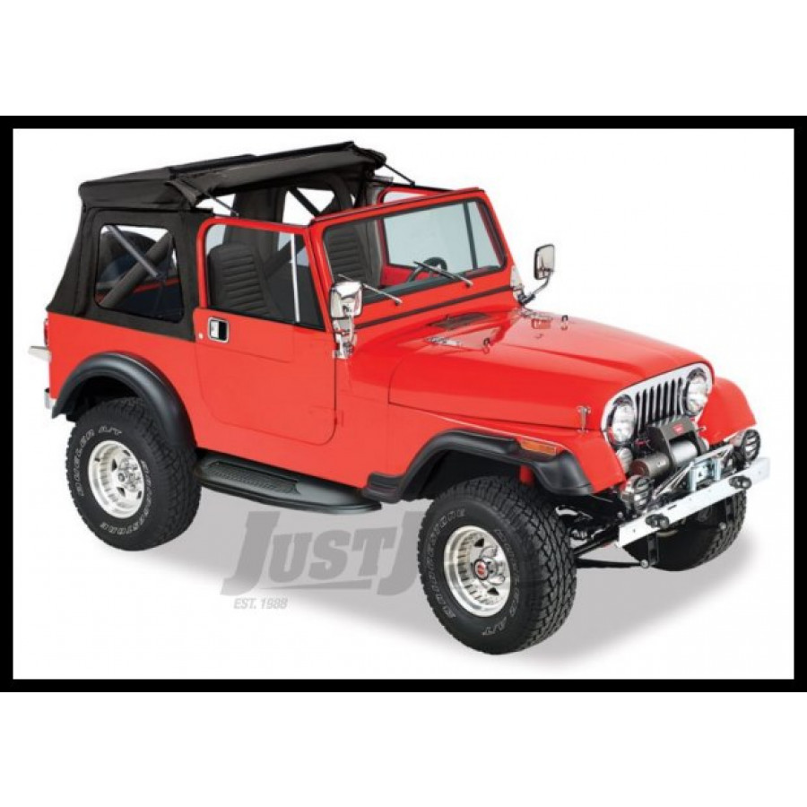 Jeep Parts Buy Bestop Sunrider Soft Top With Clear Rear