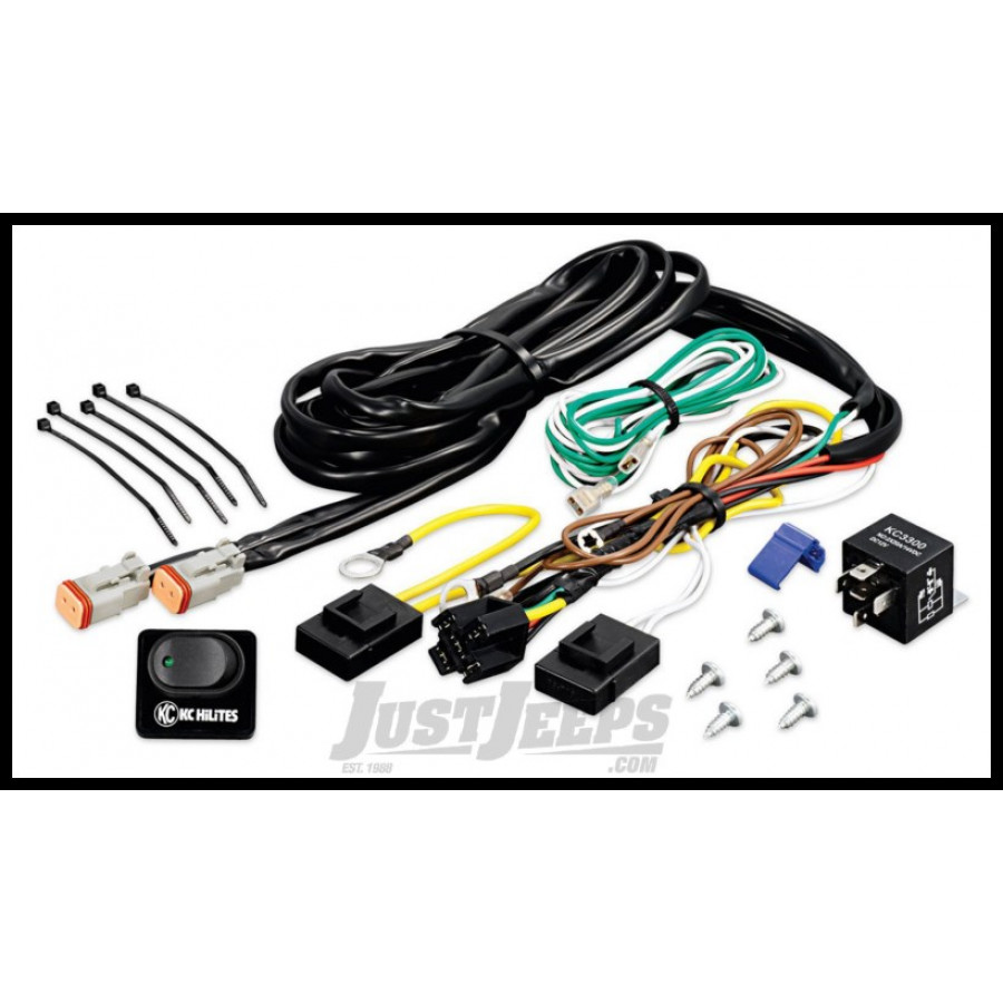 Kc Wiring Harness Diagram Hilites Wire Deluxe With Relay Solutions 6315 Just Jeeps