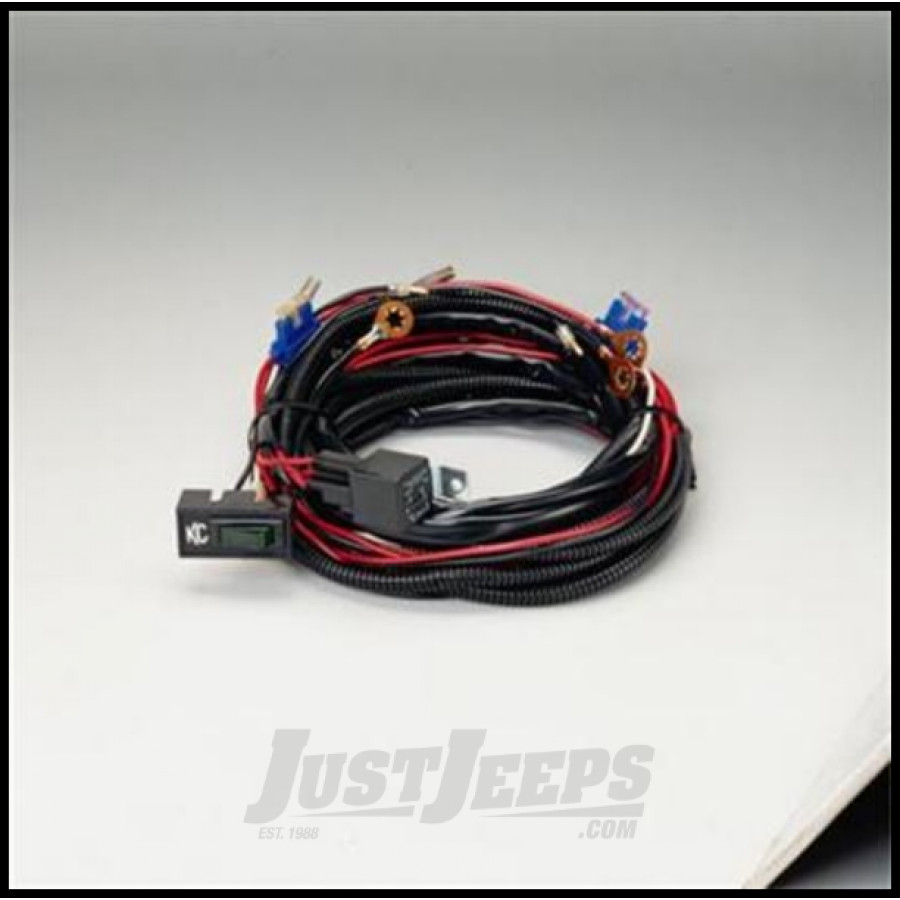 just jeeps buy kc hilites extended roof mount relay wiring
