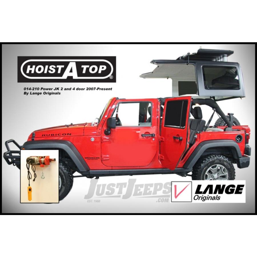 jeep parts buy lange originals hoist a top hardtop removal system power for 2007 jeep wrangler. Black Bedroom Furniture Sets. Home Design Ideas