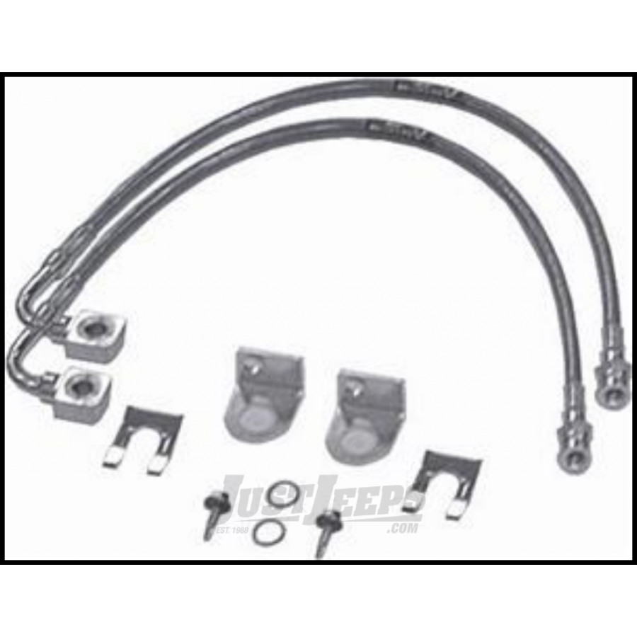jeep parts buy rubicon express front 23 u0026quot  brake line set