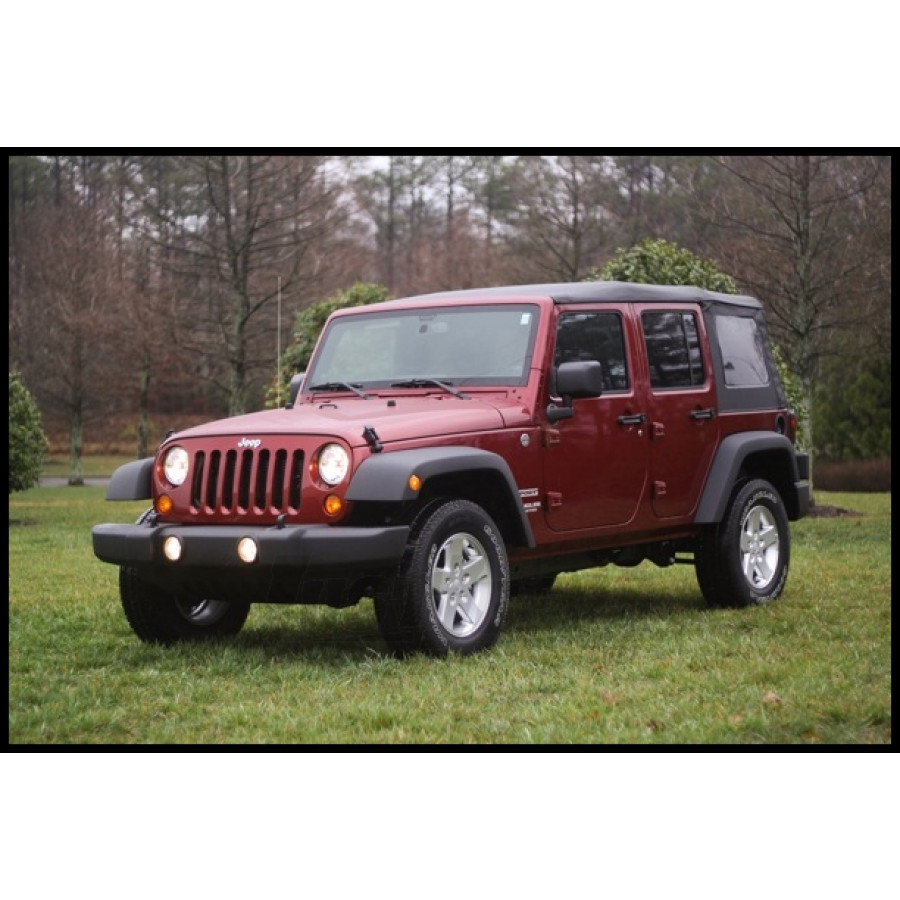 Just Jeeps Buy Rugged Ridge Replacement Fender Flare Kit