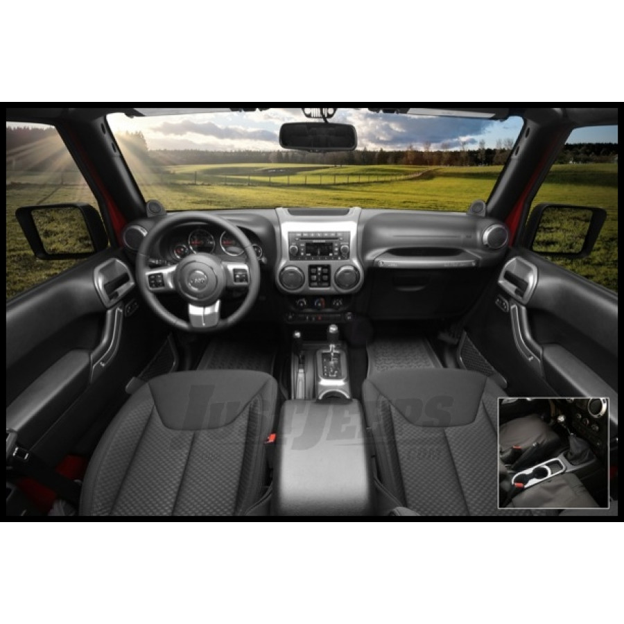 Jeep Parts Buy Rugged Ridge Interior Trim Kit In Charcoal