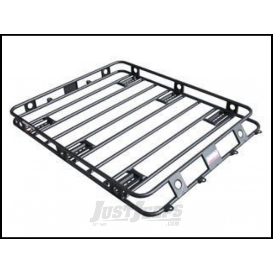 Just Jeeps Buy Smittybilt Defender Series Roof Rack Basket