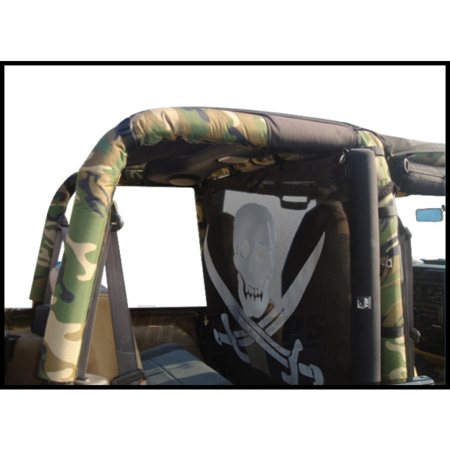 Just Jeeps Buy Vdp Camouflage Roll Bar Covers For 1997 02