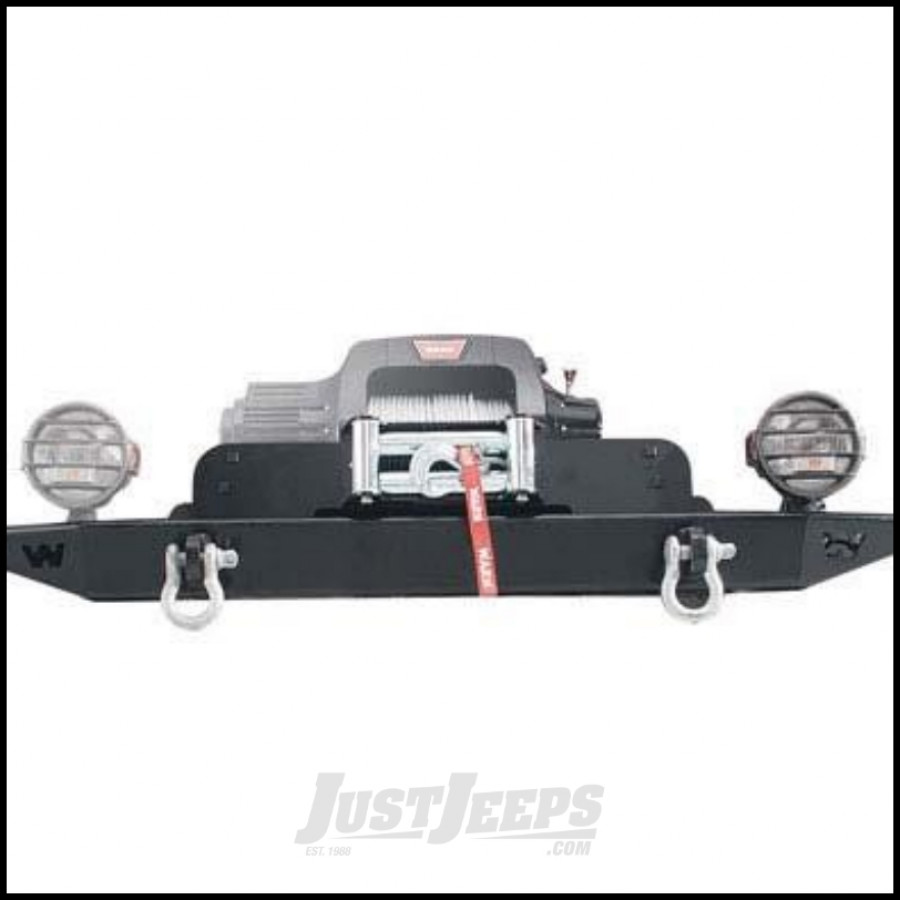 Just Jeeps Buy Warn M8274 50 Winch Mounting Plate For 2007