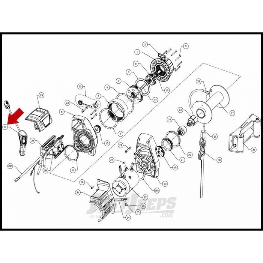 10 000 lb ramsey winch wiring diagram braden winch diagram