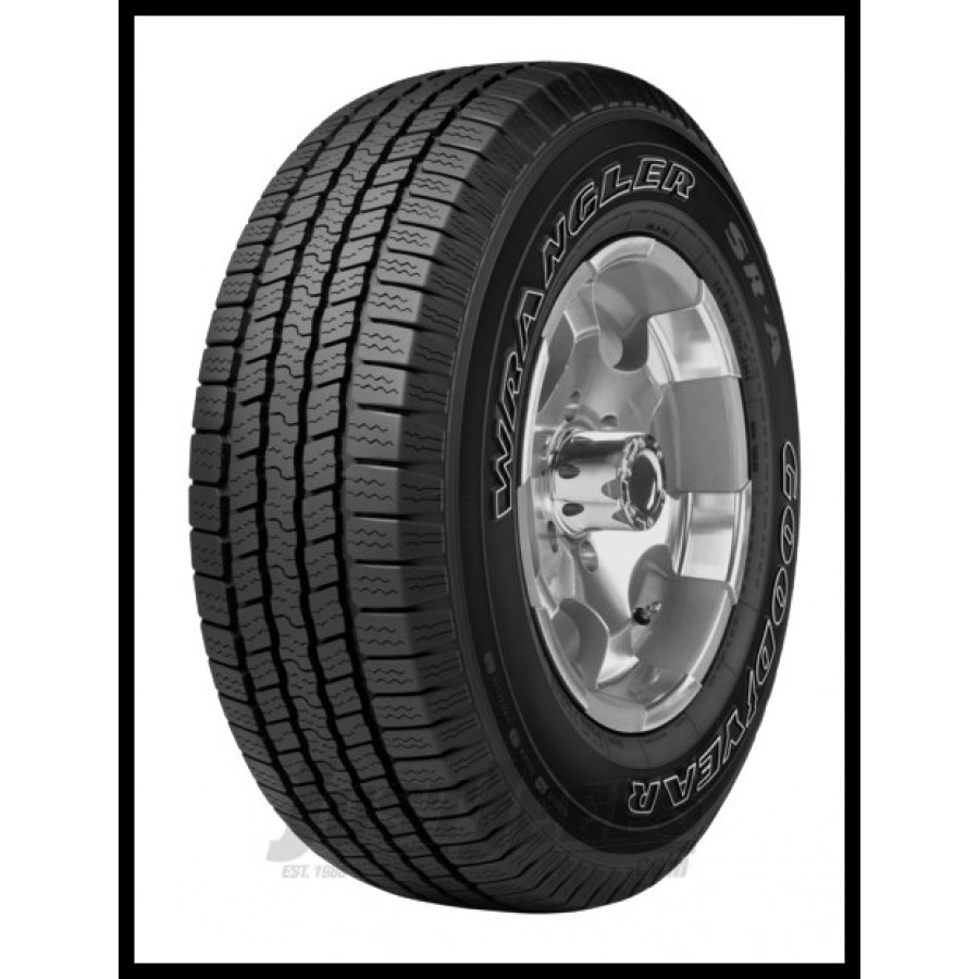 Just Jeeps Buy Goodyear Wrangler SR-A Tire P255/70R18
