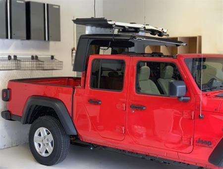 Lange Originals Power Hoist-a-Top For 2020+ Jeep Gladiator JT 4 Door Models 014-JTP