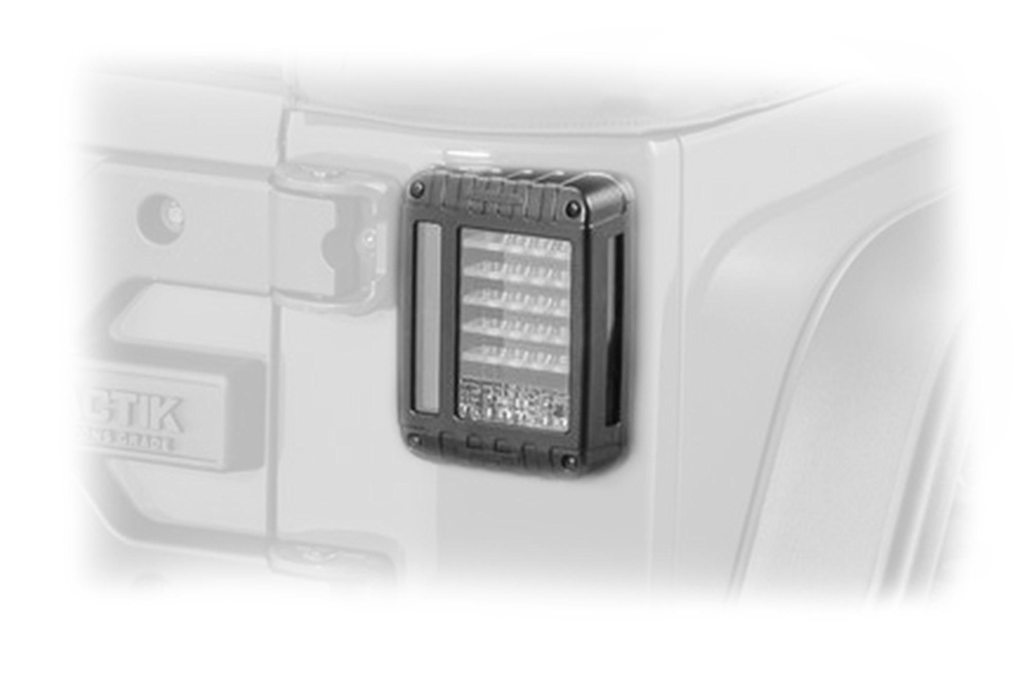 JW Speaker Model 279 J Series LED Tail Lights (Pair) For 2007-18 Jeep Wrangler JK 2 Door & Unlimited 4 Door Models